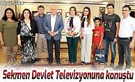 Başkan Sekmen Türkiye Azerbaycan kardeşliğini anlattı