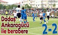BB Erzurumspor, MKE Ankaragücü ile berabere kaldı