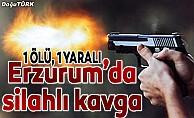 Erzurum'da ot biçme kavgası: 1 ölü, 1 yaralı