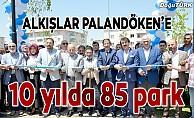 Palandöken Belediyesi 10 yılda 85'inci parkı açtı