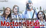 BB Erzurumspor-Beşiktaş maçından notlar...
