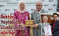 ETÜ ile Malezya Putra Üniversitesi arasında işbirliği