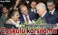 MHP lideri Bahçeli Erzurum teşkilatıyla yemekte buluştu