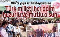 MHP'de bayramlaşma programı