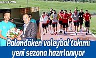 Palandöken voleybol takımı yeni sezona hazırlanıyor