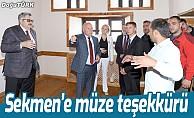 Büyükelçi Yerhov'dan müze teşekkürü