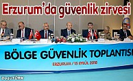 Erzurum'da Bölge Güvenlik zirvesi