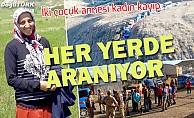 Erzurum'daki kayıp anne aranıyor