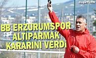 Erzurumspor, Mehmet Altıparmak ile yollarını ayırdı