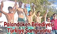 Palandöken Belediyesi Türkiye Şampiyonu