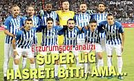 Süper Lig hasreti bitti galibiyet hasreti başladı