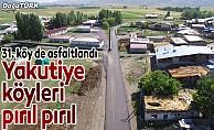 Yakutiye, 31'nci köyü asfaltlıyor