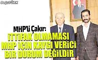 Çakır: İttifak olmaması MHP için kaygı verici bir durum değildir