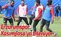 Erzurumspor'da Kasımpaşa maçı hazırlıkları