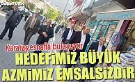 MHP İl Başkanı Karataş esnafla bir araya geldi