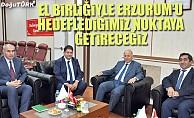 Vali Azizoğlu'ndan, ETB Başkanı Oral'a hayırlı olsun ziyareti