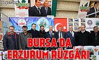 Bursa'da Erzurum rüzgârı