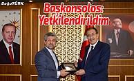 İran'ın Erzurum Başkonsolosu Bulutlar'ı ziyaret etti
