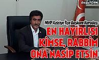 MHP Aziziye'de göz dolduruyor