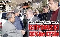 Milletvekili Akdağ, ilçeleri ziyaret etti