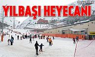 Doğudaki kayak merkezlerinde yılbaşı heyecanı