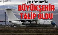 Erzurum Büyükşehir Belediyesi o uçağa talip oldu