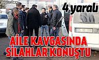 Erzurum'da silahlı kavga: 4 yaralı