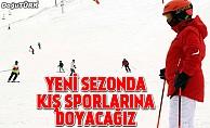 Türkiye yeni sezonda kış sporlarına doyacak
