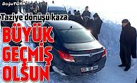 bBüyük geçmiş olsun: Doğutürk yöneticilerinden Taş kaza geçirdi/b