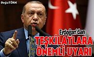Cumhurbaşkanı Erdoğan'dan ittifak uyarısı