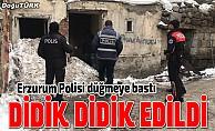 Erzurum polisinden denetim