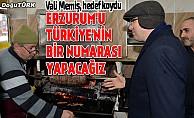 Vali Memiş: Erzurum'u Türkiye'nin 1 numarası yapacağız