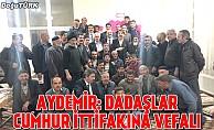 Milletvekili Aydemir Aziziyeli Dadaşlarla istişare etti