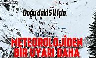 Doğu Anadolu'da 5 il için uyarı