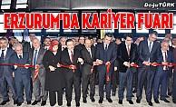 """""""Doğu Anadolu Kariyer Fuarı"""" açıldı"""
