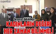 Erzurum Adliyesi'nde Dünya Kadınlar Günü programı