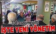 TDED Erzurum 2. olağan genel kurulunu yaptı
