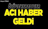 Erzurum'da otomobil şarampole uçtu: 1 ölü, 1 yaralı