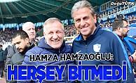 Hamzaoğlu: Her şeyden önce oyuncularımı tebrik ediyorum