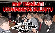 MHP teşkilatı Uzundere'de buluştu
