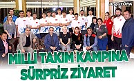 TRT İl Müdüründen Short Track Milli takım kampına ziyaret