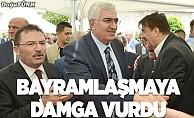 Bayramlaşma programında gündem İstanbul seçimleri oldu