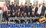 Büyükşehir'den milli takıma iftar