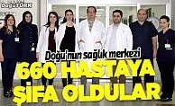 Doğu'nun sağlık merkezi organ bekleyen 660 hastaya şifa oldu