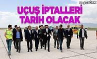 Erzurum Havalimanı'nda uçuş iptallerine teknolojik çözüm