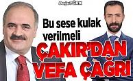 ABB Başkanı Çakır'dan vefa çağrısı