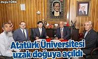 Atatürk Üniversitesi uzak doğuya açıldı