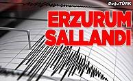 Erzurum'da 3,9 büyüklüğünde deprem