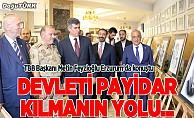 TBB Başkanı Feyzioğlu Erzurum'da konuştu