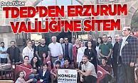 TDED Erzurum'dan Valiliğe 100. yıl sitemi